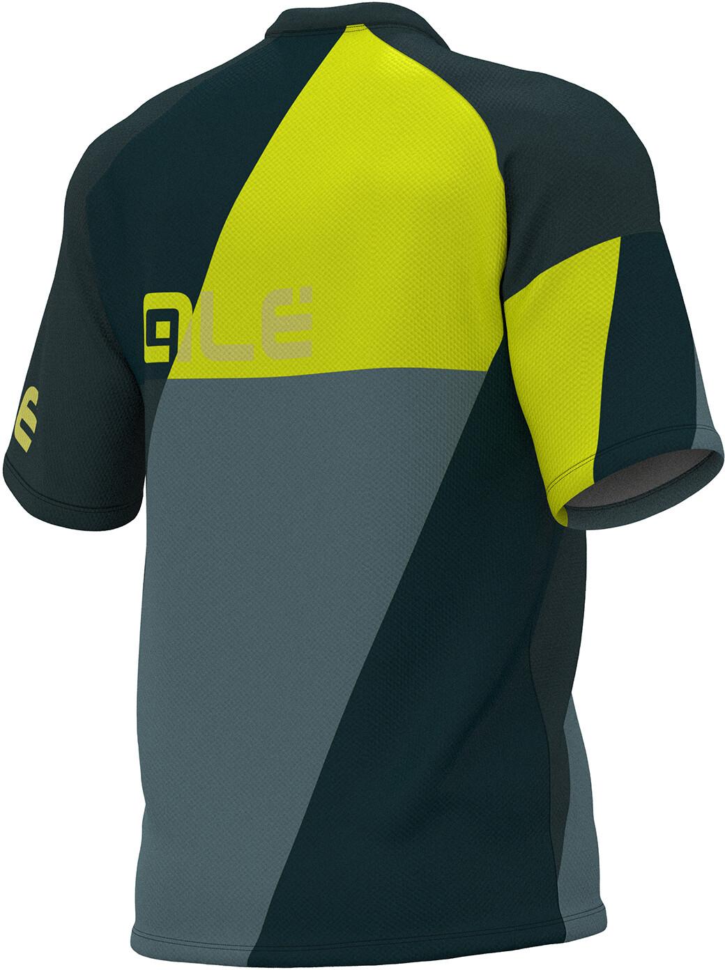 Alé Cycling Enduro Rampage Bike Jersey Shortsleeve Men yellow grey ... ba2c155d0